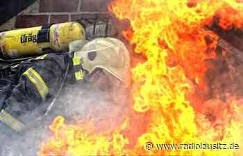 Nebengebäude in Weißkeißel ausgebrannt - Radio Lausitz