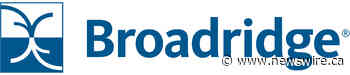BayernLB Selects Broadridge for Regulatory Trade and Transaction Reporting