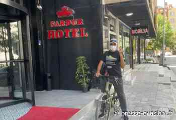Auxerre/Dubaï : Abder EL BADAOUI ne peut pénétrer en Iran pour le moment…et visite Van à bicyclette ! - PRESSE EVASION