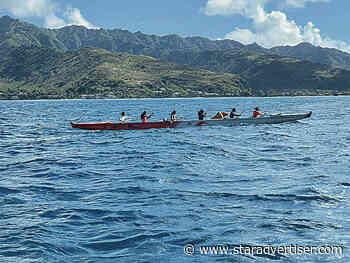 Hawaiian canoe racing finally resumes