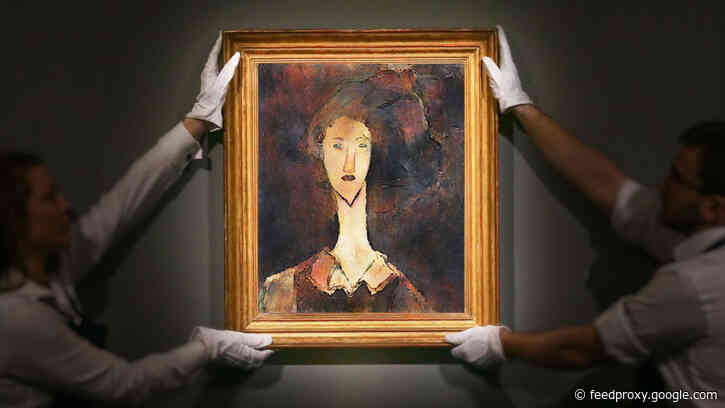 AI & X-Rays Recover Lost Artworks Underneath Paintings by Picasso & Modigliani