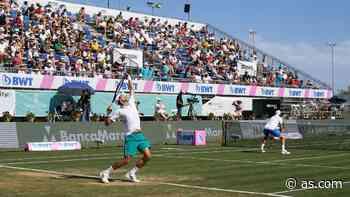 Djokovic afina su puesta a punto con una victoria en dobles - AS