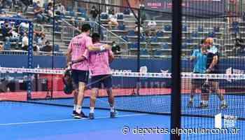 Debut y victoria para Chingotto y Tello - Deportes » elpopular.com.ar » Móvil - El Popular Medios