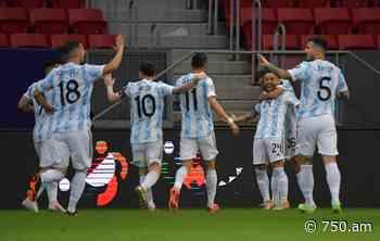 Copa América: cómo quedó la tabla de posiciones tras la victoria de Argentina - AM 750