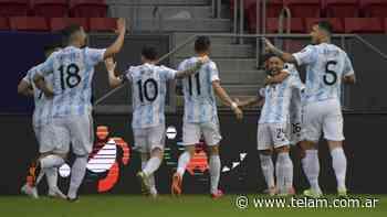 El minuto a minutos de Argentina y la victoria frente a Paraguay - Télam