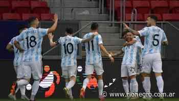 Argentina y una victoria práctica ante Paraguay para llegar a los cuartos de final - Diario Río Negro