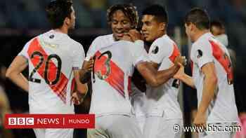 Copa América: Ecuador deja escapar la victoria en su empate con Venezuela y Perú derrota a Colombia por 2-1 - BBC News Mundo
