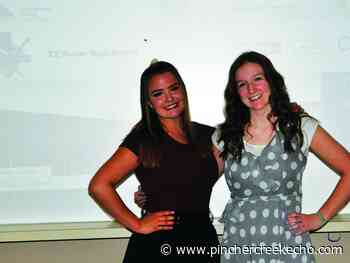 Best friends shocked after hearing they tied for valedictorian honours - Pincher Creek Echo