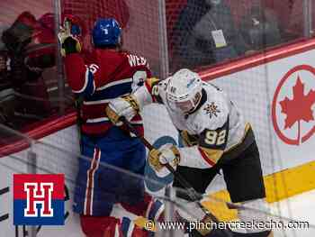 Referees' prison rules stain Canadiens-Knights series   HI/O Show - Pincher Creek Echo