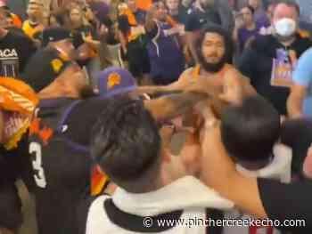 FIGHT CLUBS: Suns and Clippers fans get into brutal brawl - Pincher Creek Echo