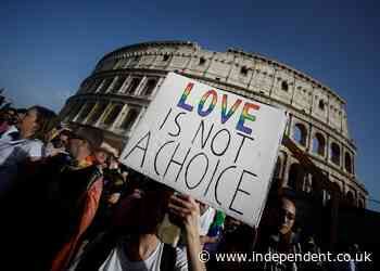 Vatican comes under fire for raising objection to Italy's draft LGBT law criminalising hate speech