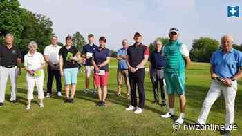 Golf: Gelungene Turnierpremiere in Mennhausen - Nordwest-Zeitung