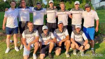 Golf: 2. Liga und Regionalliga: Der Abstieg rückt näher – Altenhofer Herren steigern sich, werden aber wieder Letzter | shz.de - shz.de