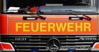 Mülltonnenbrand greift in Mainzer Neustadt auf Gebäude über - Allgemeine Zeitung