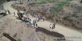 Mejorarán 126 km de camino vecinal Casa Blanca - Pampas de Chepate en Gran Chimú - La Industria.pe