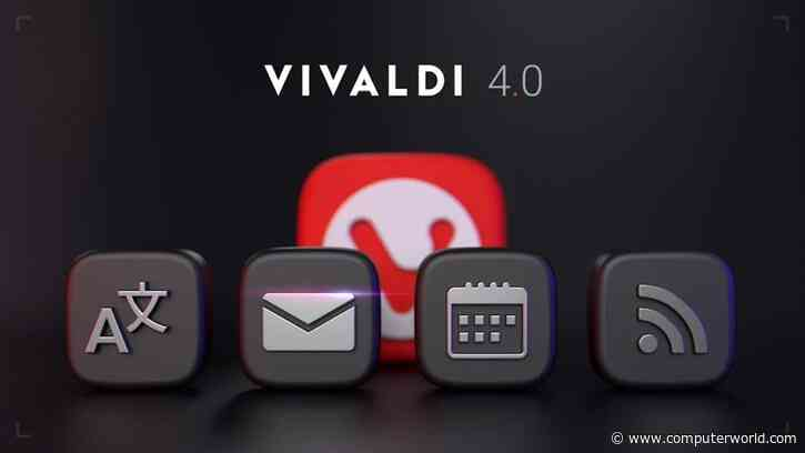 Back to the '90s: Boutique browser Vivaldi now offers its own Internet suite