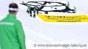Volkswagen: Strafantrag nach Greenpeace-Aktion in Emden