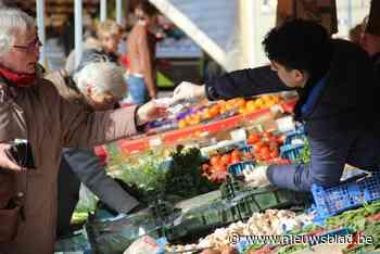 Vrijdagmarkt verhuist voor een keer naar Schietakkerstraat