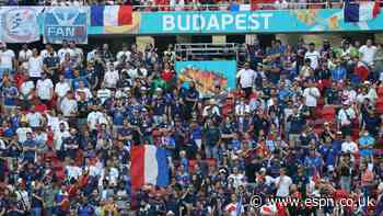 France fans miss match vs. Hungary by going to Bucharest, not Budapest