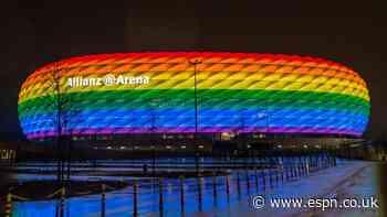 UEFA on rainbow row: Symbol is not political