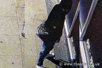 Hunt for thug who attacked homeless man in Crawley