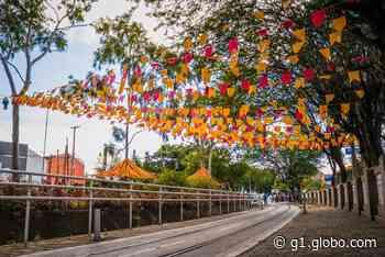 Ruas e avenidas de Caruaru são decoradas com bandeiras e balões às vésperas do dia de São João - G1