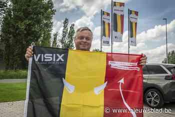 Vlaggenmaker draait weer op niveau van voor corona, met dank aan de Rode Duivels - Het Nieuwsblad