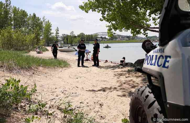 Stepped up police enforcement at Canatara Park