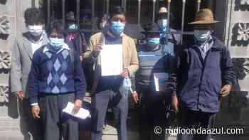 Juli: Alcaldes de centros poblados realizaron un plantón en la Municipalidad Provincial de Chucuito - Radio Onda Azul