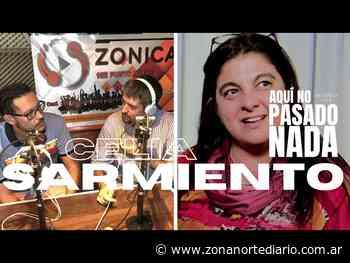 """Celia Sarmiento: """"La campaña de vacunación es un éxito"""" - Zona Norte Diario Online"""