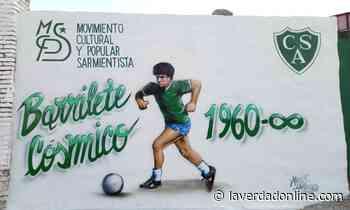 #DiegoEterno: Homenaje con mural, grito y emoción en Sarmiento - Diario La Verdad Junín
