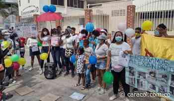 Este miércoles nuevo plantón por la desaparición de Alexandrith Sarmiento - Caracol Radio
