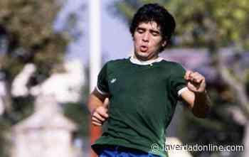 #GritaloPorD10S: Sarmiento de Junín homenajea a Maradona - Diario La Verdad Junín