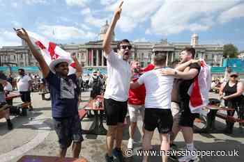 Ballot for Trafalgar Zone England Euros knockout opens