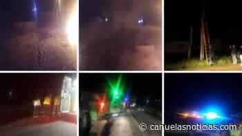 Canuelas Edesur los Nogales, 4 días sin luz, se produjo un accidente a 50 metros del corte de la Ruta 205. % - Cañuelas Noticias NotiCañuelas