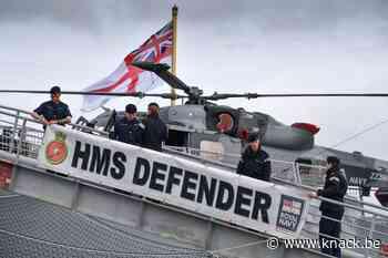 Rusland vuurt waarschuwingsschoten af op Britse torpedojager
