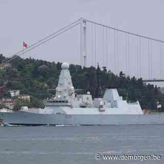 Russische troepen vuren waarschuwingsschoten af op Brits marineschip op Zwarte Zee