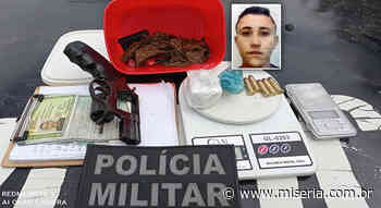 Jovem preso em Juazeiro e a PM apreende arma e drogas - Site Miséria