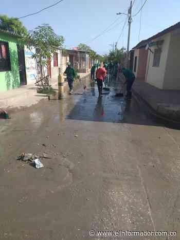 Inconformidad en Sitionuevo por incumplimiento en terminación del alcantarillado público - El Informador - Santa Marta
