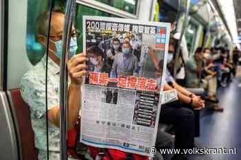 Protestkrant Hongkong dreigt einde van de week niet te halen - Volkskrant
