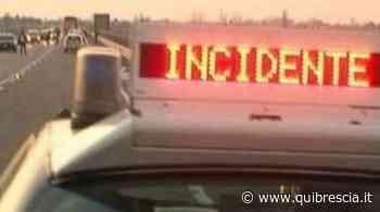 A4, incidente tra mezzi pesanti: traffico tra Palazzolo e Rovato - QuiBrescia.it