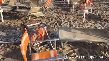 Altri danni agli stabilimenti balneari di Senigallia, chiesti più controlli - Centropagina