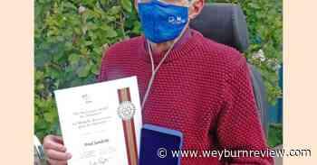 Weyburn volunteer to receive Sovereign's Medal virtually - Weyburn Review