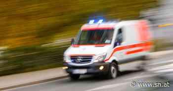 Sturm weht Campingsessel auf Straße - zwei Verletzte bei Unfall in Salzburg - Salzburger Nachrichten
