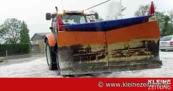 Schneepflug eingesetzt: Schwere Hagelunwetter in Salzburg - Kleine Zeitung