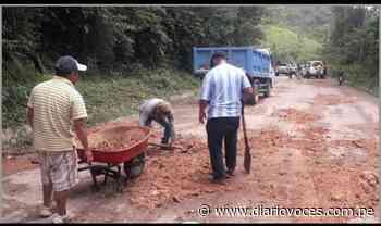 Asfalto con bicapa de Carretera Moyobamba – Jepelacio ya no existe en varios tramos - Diario Voces