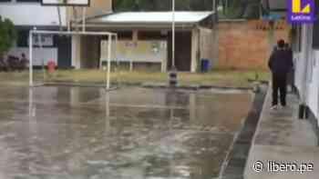 Elecciones 2021: lluvia torrencial inunda local de votación en Moyobamba - VIDEO - Libero.pe