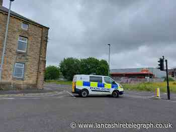 Person treated for smoke inhulation following fire at Blackburn garage