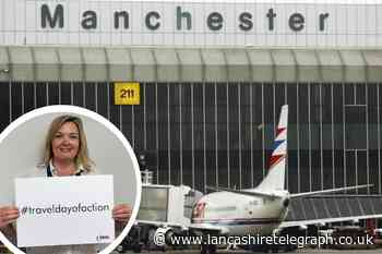 Manchester Airport holding protest over travel restrictions