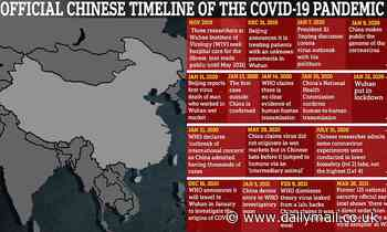 More proof to support lab leak theory? China DELETED samples from earliest patients